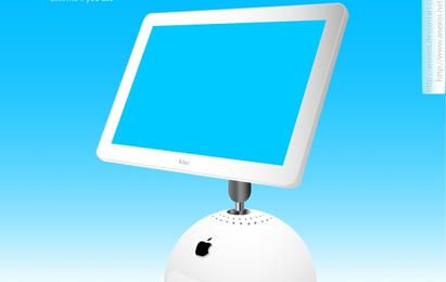 Monitor de monitor iMac da Apple