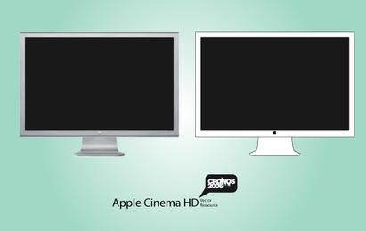 Apple HD Display Vector