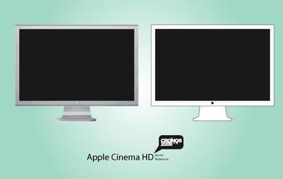 Vetor de exibição de HD de Apple