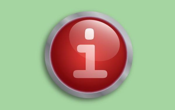 Vector de botón rojo fluorescente