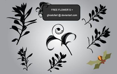 Forma de adorno floral