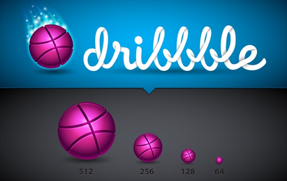 Atemberaubende Dribble-Icon-Set