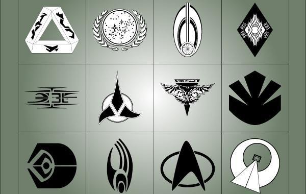 Star Trek Symbols Vector Download