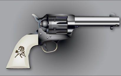 Colt-Six-Shooter-Vektor