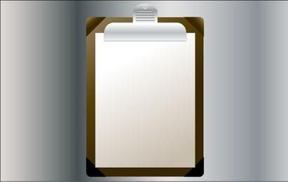 Vector Clipboard Illustration