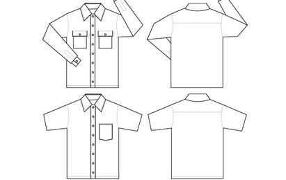 cyrusSHIRT VECTOR PACK