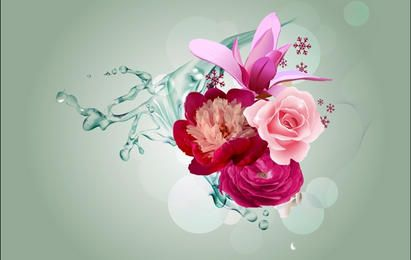 Londres Bouquet de flores