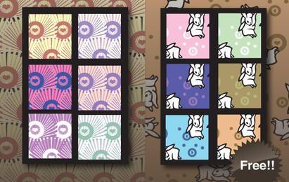 Seamless Japanese Swatch Pattern
