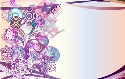 Vector Abstract Design Element