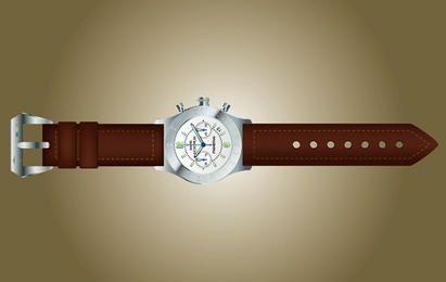 Vector Photorealistic Hand Watch