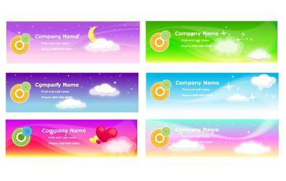 Sky Theme Banner Vorlage