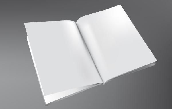 3D Book Template Vector - Vector download