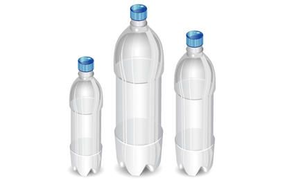 High Detail Vector Bottles