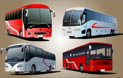 Luxury Bus Vector