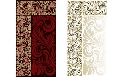 Vintage Flourish Ornamental Pattern