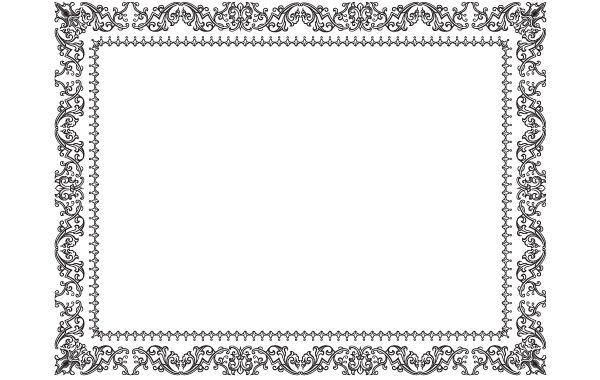 Vintage Ornamental Frame Design Vector Download
