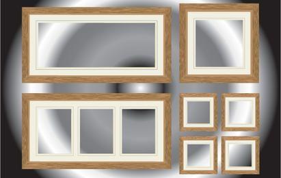 Realistischer Fenster- und Flur-Pack