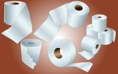 Paquete de papel de papel higiénico