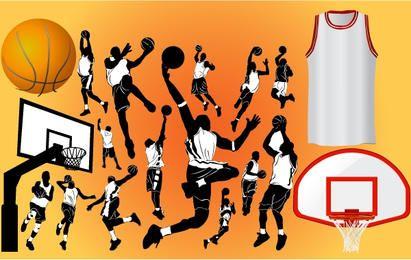 Basketball Player and Stuff