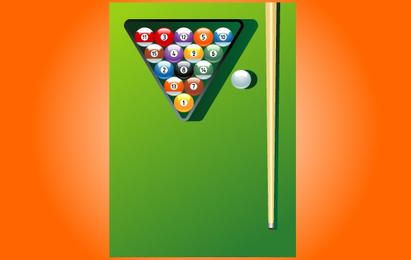 Billiard jogo Instruments