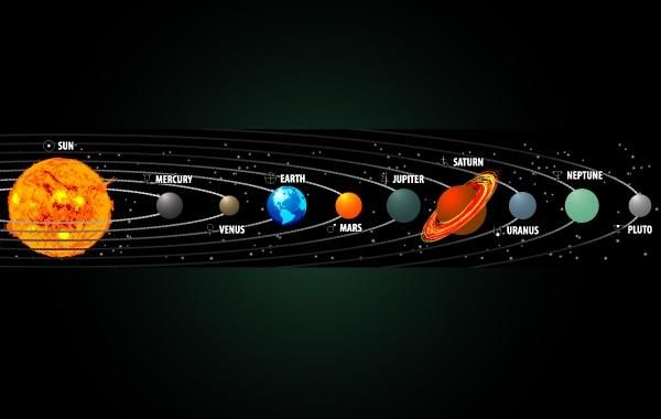 solar system vector free download - photo #23