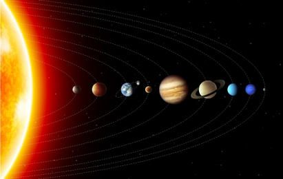 Hermoso Solar Planet Ambiente