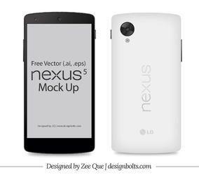 Front & Back Google Nexus 5 Smart Phone