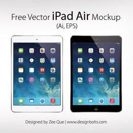 Apple iPad Air Mockup