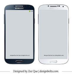 Samsung Galaxy S4 Maqueta