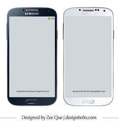 Samsung Galaxy S4 Maquete