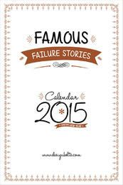 Famous Motivational Stories Printable Calendar 2015