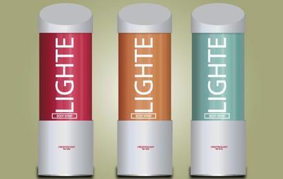 Paquete de spray de cuerpo ligero