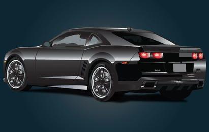 Chevrolet Black Ferrari Car