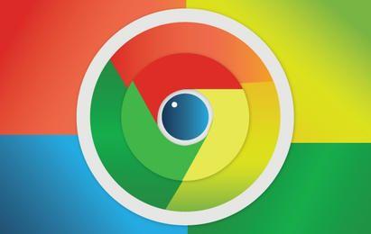 Lindo icono de Google Chrome