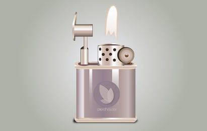 Icon Stylish Fired Lighter