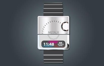 Fashionable Digital Hand Watch