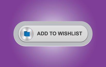 Gray Wish List Button