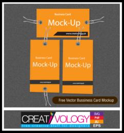 Simplistic Business Card Mockup