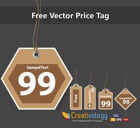 Vintage Price Tag Set