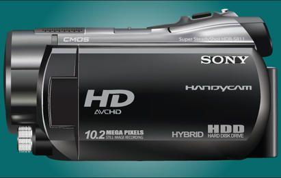 Realistische Sony HDR SR11 Handycam
