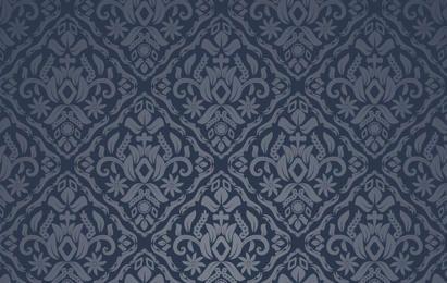 Meia-noite azul padrão sem emenda