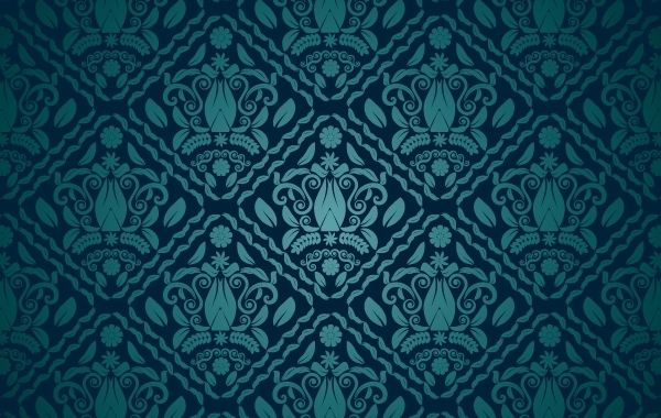 Dark Teal Seamless Pattern Vector Download