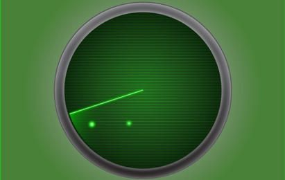Radar Icon Green