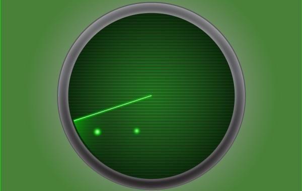 Radar Icon Green