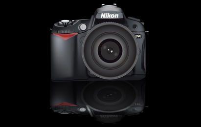 Camera Nikon D90 Realistic