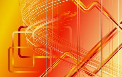 Fundo listrado futurista de Orangey