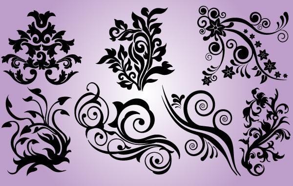 Floral Design Element Pack