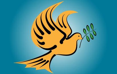 Flying Dove Bird of Peace