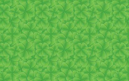 St Patrick Day Clover Pattern