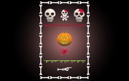 Kit de sitio de Halloween